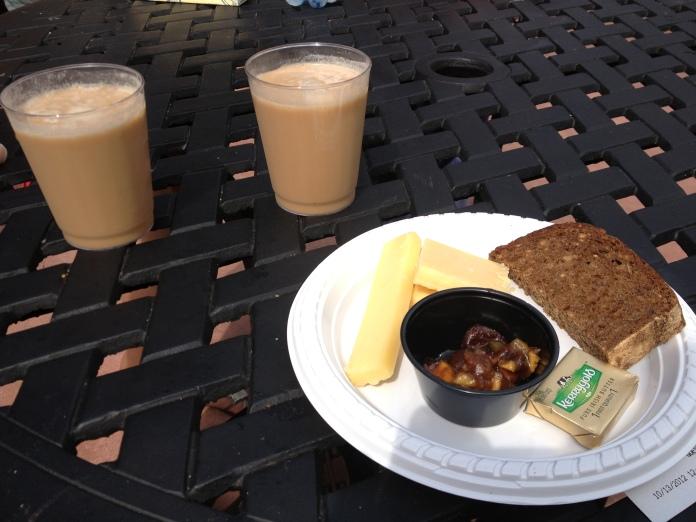 Cheese and Irish Coffee! A Pretty Pairing!