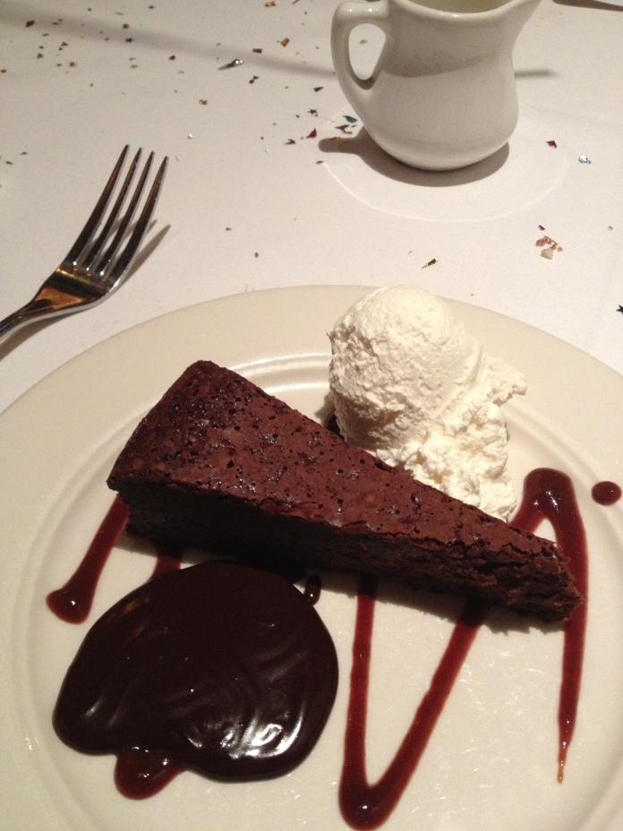 My dessert.