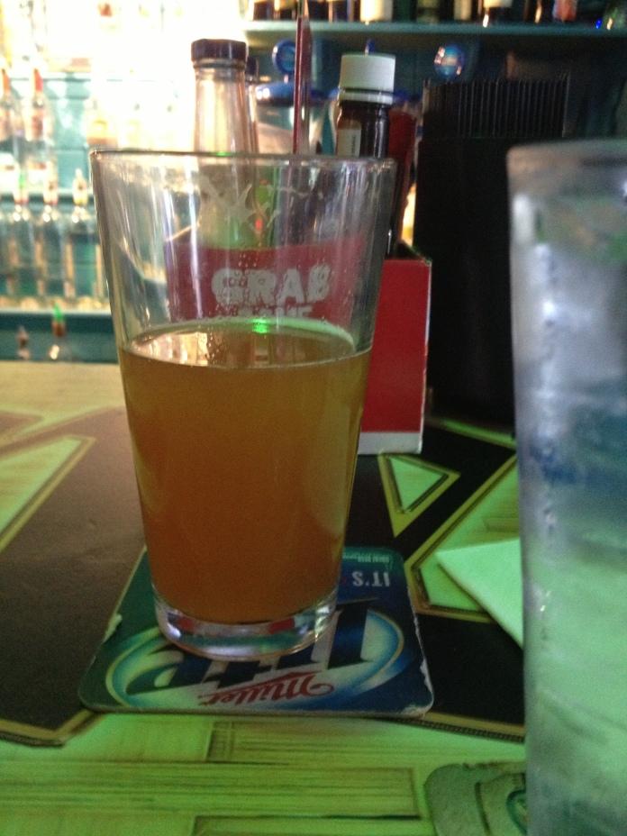 Second beer.