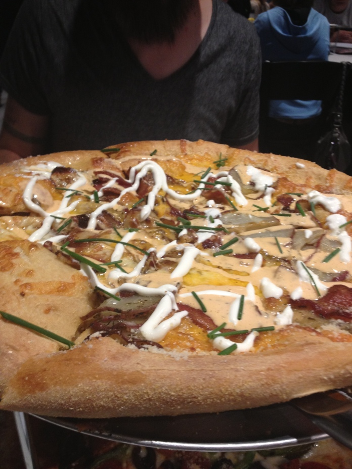 Pizza/Potato Skin Hybrid