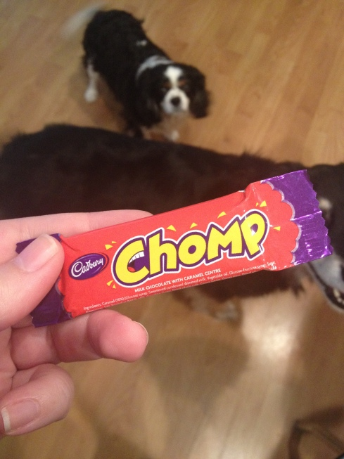 CHOMP on CHOMP
