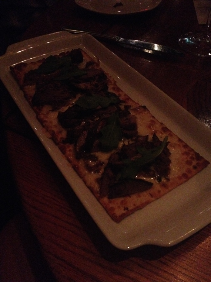 Short rib flat bread