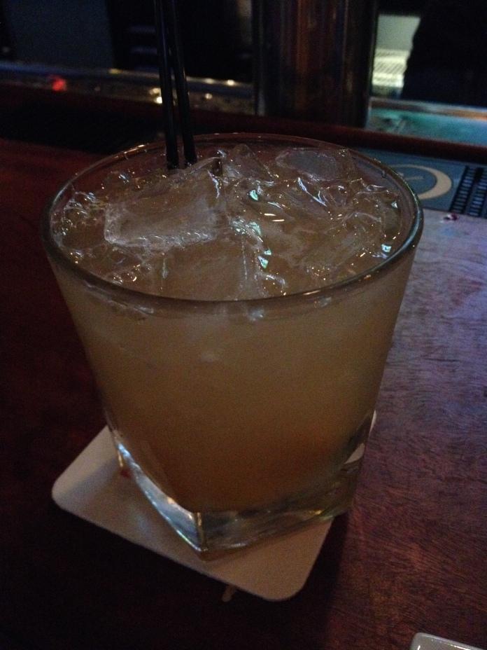 Whiskey ginger thing.