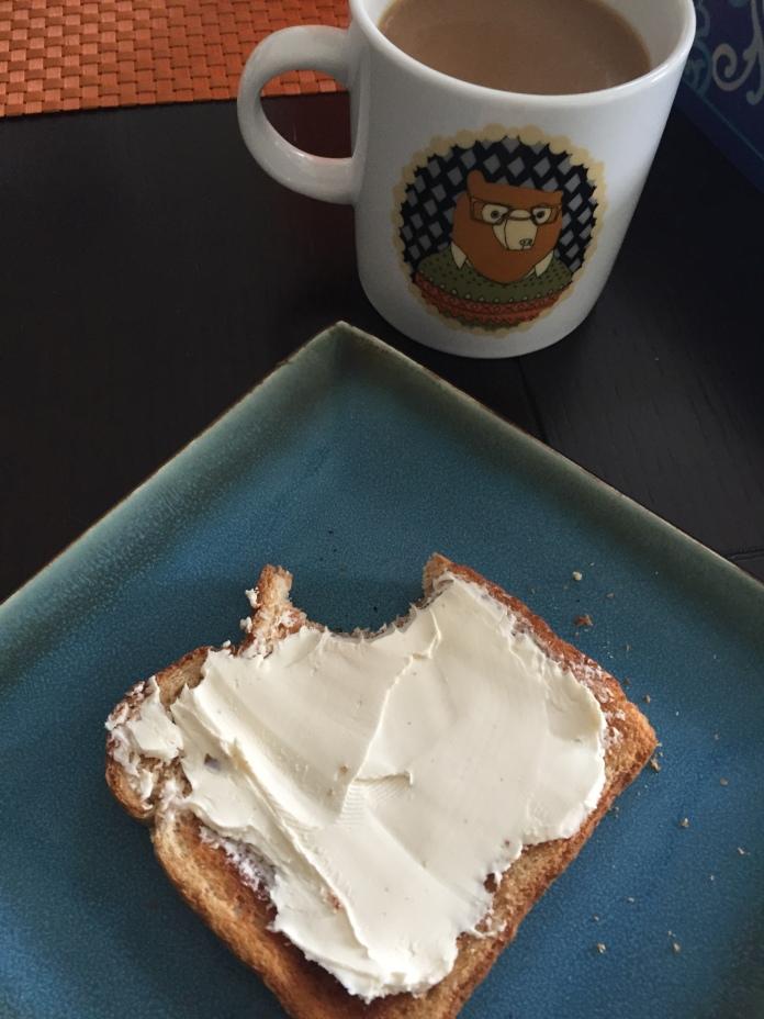Mmmmm...cream cheese.