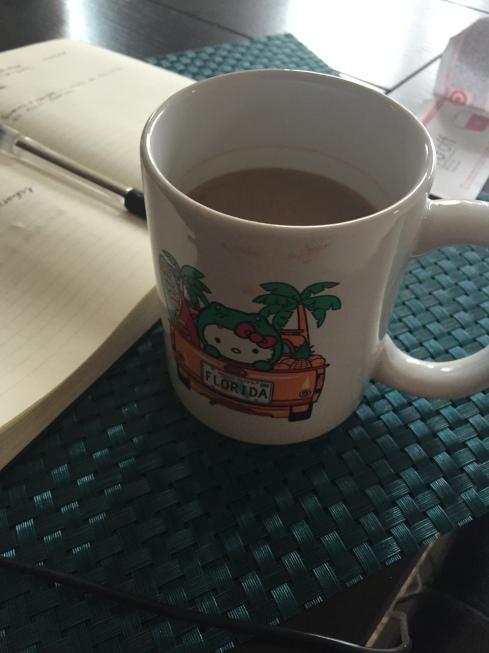 Same mug, different day.