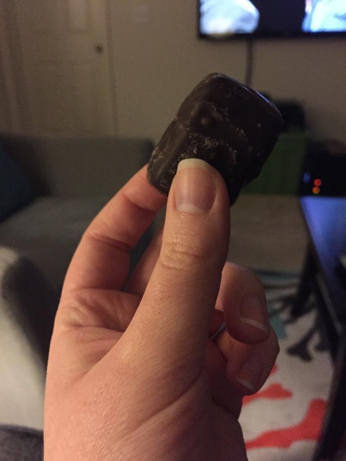This caramel.