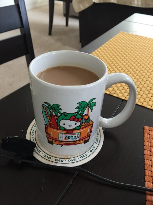 In my favorite mug.