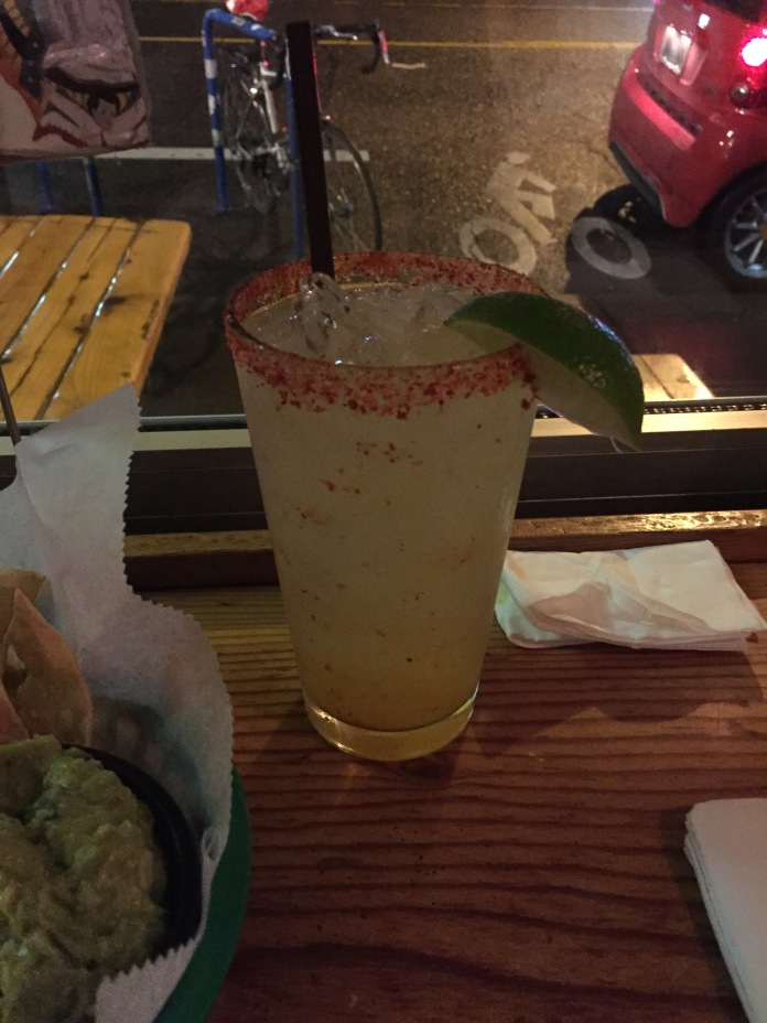 Mango chili margarita