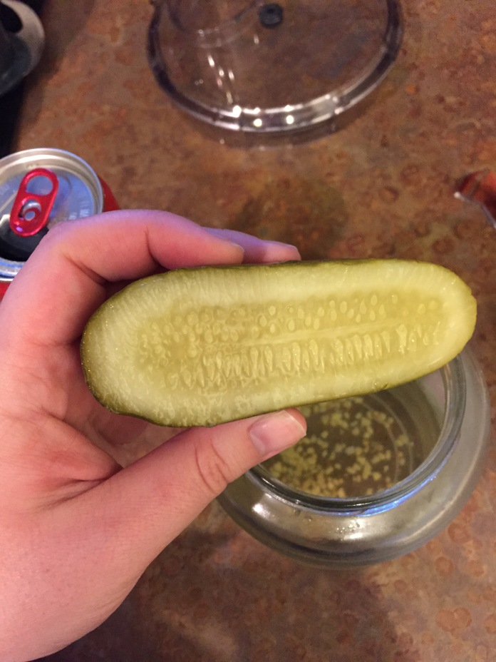 The last pickle :(