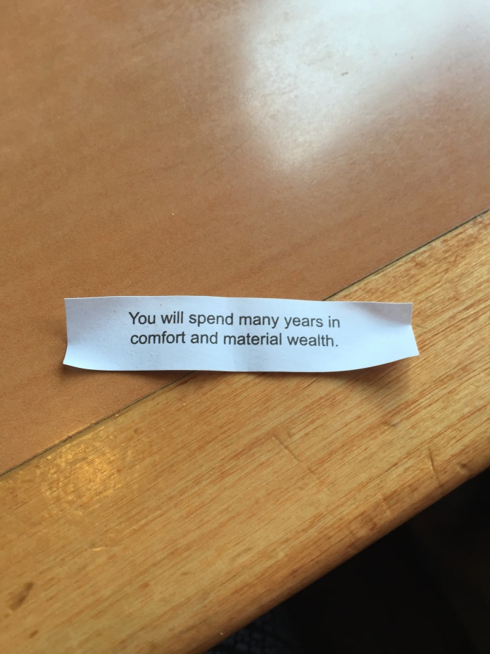 A sweet fortune.