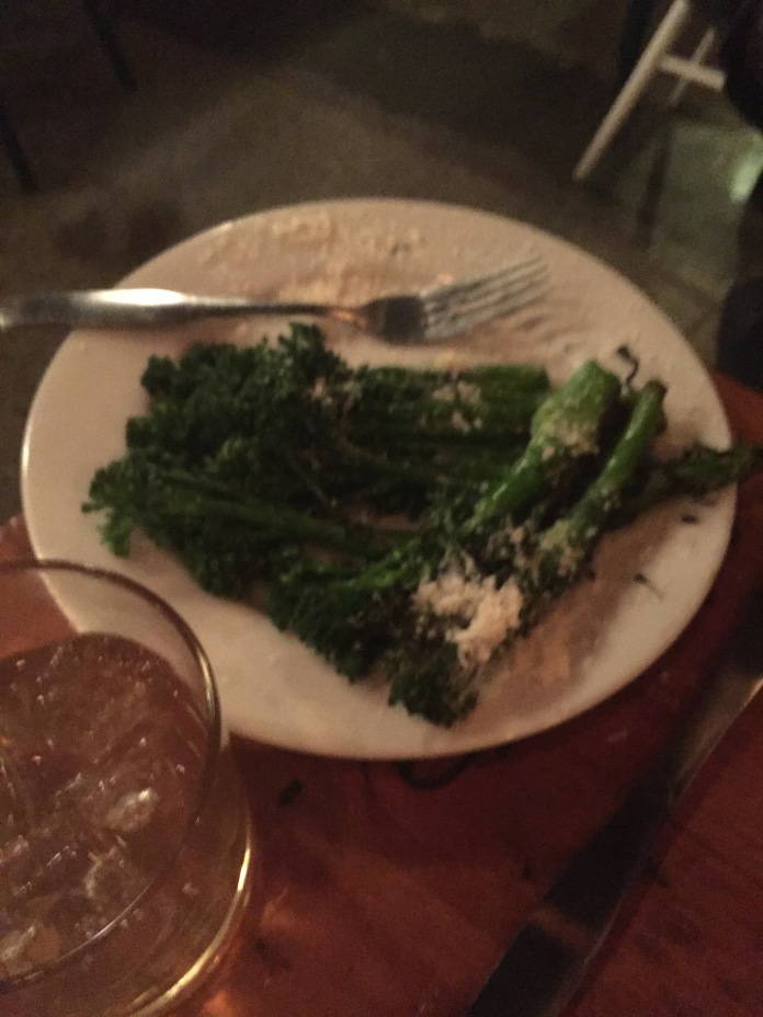 Grilled broccolini.