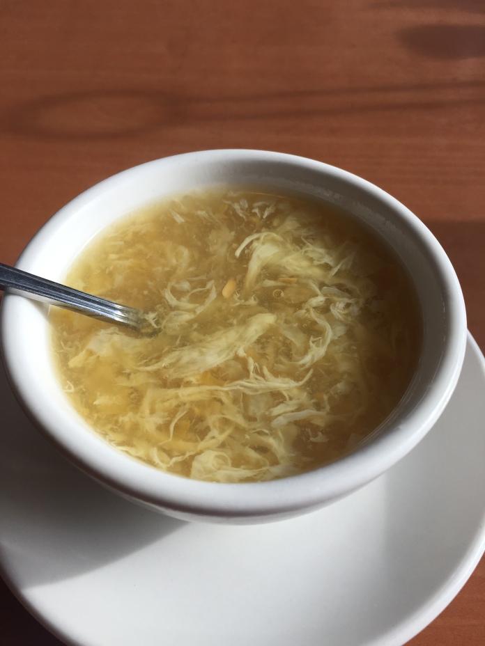 Corn flower soup