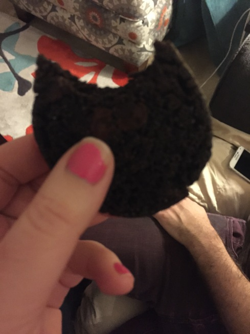A cookie our roommate made