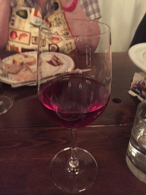 Yay! Wine! (I had three glasses)