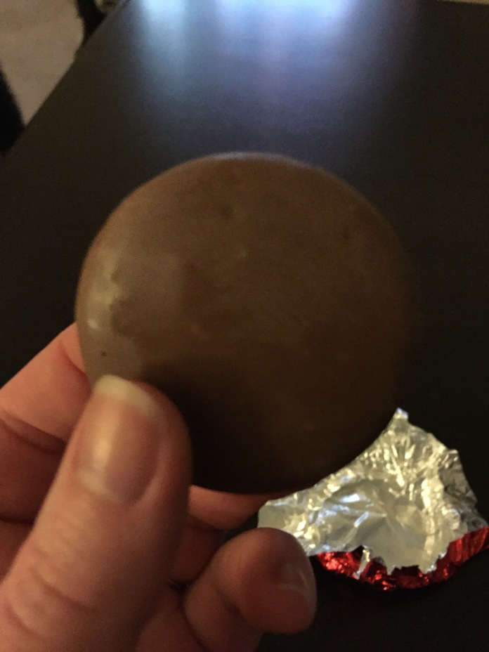 This chocolate-covered Oreo