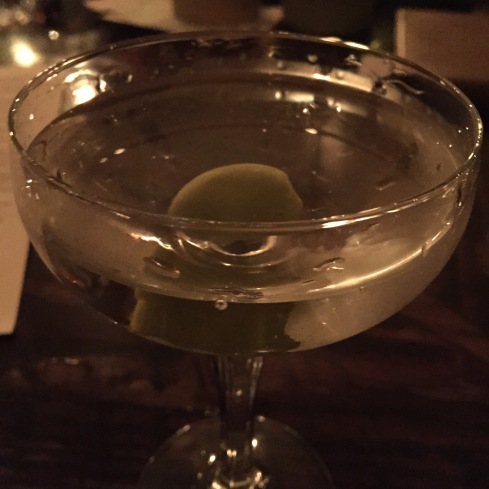 This was the first one. The second had a twist and was made with a gin made from grapes.