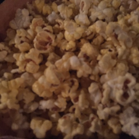 The popcorn came out better.