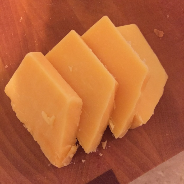 The last bit of cheese