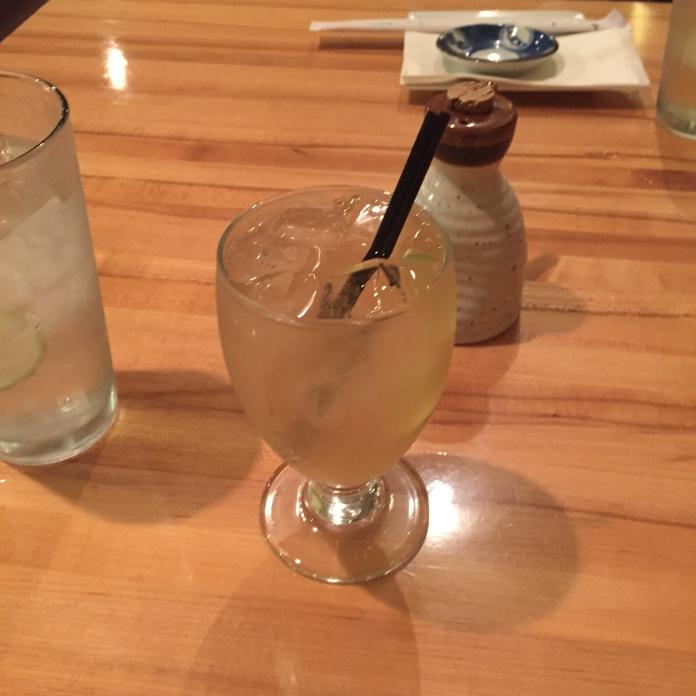 Sake, ginger, blah blah.