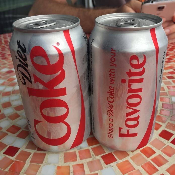 Yes. Diet Coke is my favorite.