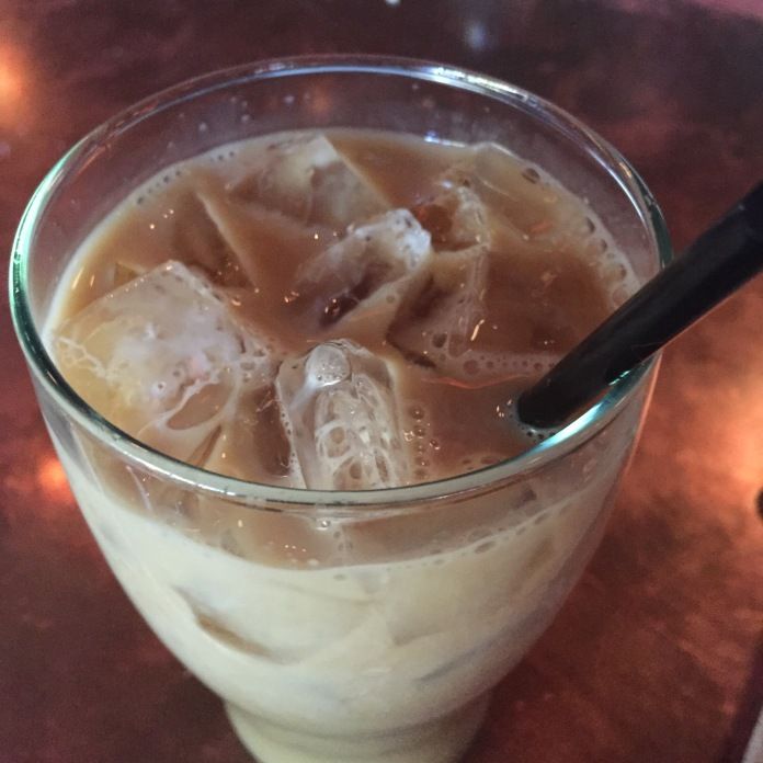 Iced coffee to perk up