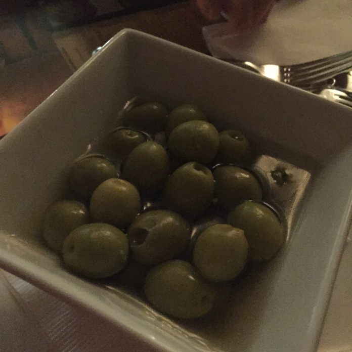 Olives stuffed with lemon