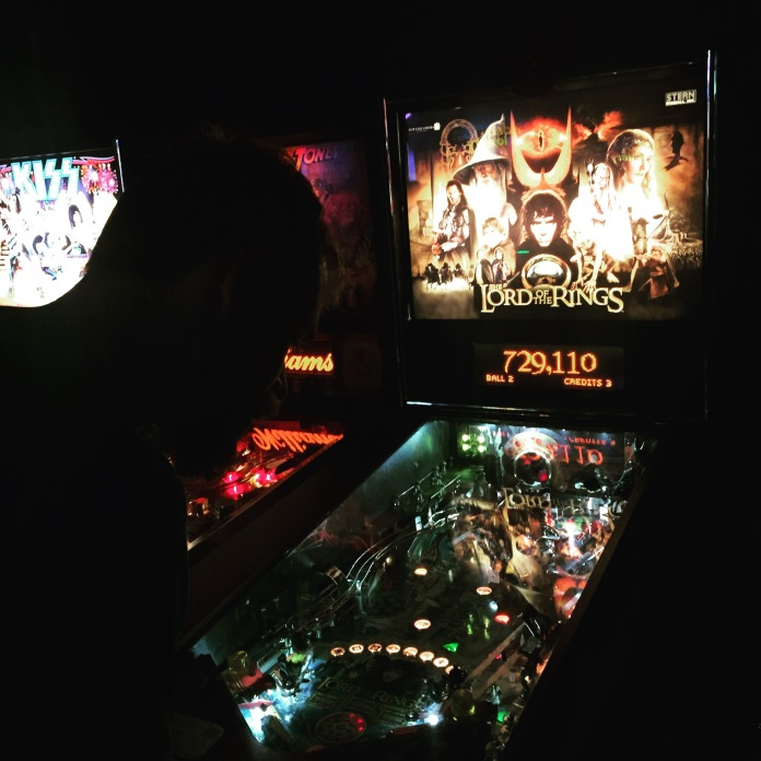 I forgot the photo of the drink so here is the pinball.